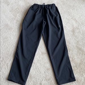 New Balance track pants.